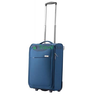 Чемодан тканевый CarryOn AIR Ultra Light малый синий 2 колеса