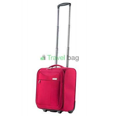 Чемодан тканевый CarryOn AIR Underseat малый красный 2 колеса