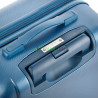 Чемодан пластиковый CarryOn Skyhopper средний синий