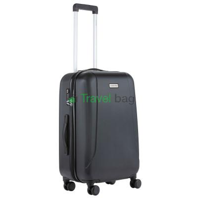 Чемодан пластиковый CarryOn Skyhopper средний черный
