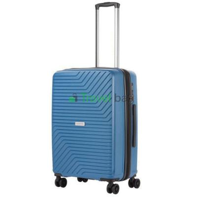 Чемодан пластиковый CarryOn Transport средний синий