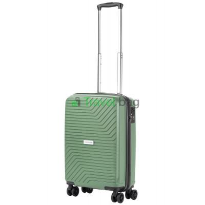 Чемодан пластиковый CarryOn Transport малый оливковый