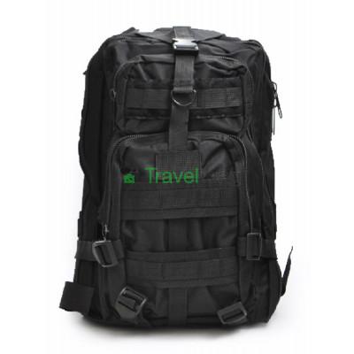 Рюкзак тактический 25 л черный