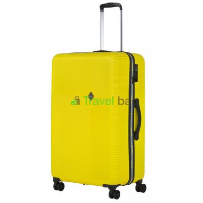 Чемодан пластиковый CarryOn Connect большой желтый