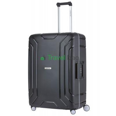 Чемодан пластиковый CarryOn Steward большой черный