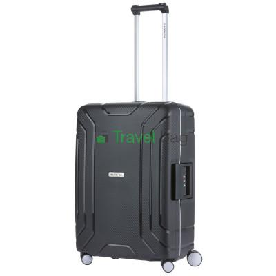 Чемодан пластиковый CarryOn Steward средний черный