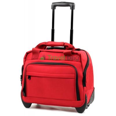Сумка дорожная на колесах MEMEBERS Essential On-Board Laptop 21 красная