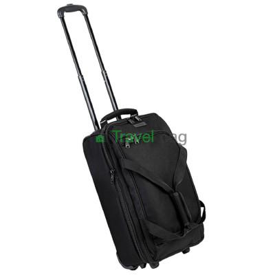 Сумка дорожная на колесах MEMEBERS Expandable Wheelbag малая 33/42 черная