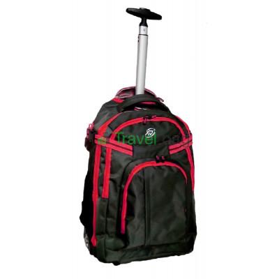 Рюкзак на колесах XJ 38 л черно-красный RBL054S-R