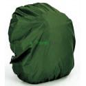 Чехол на рюкзак 30-50 л 2-сторонний черно-зеленый