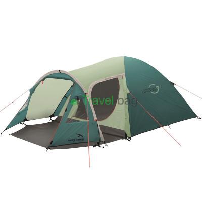 Палатка трехместная Easy Camp Corona 300 зеленая