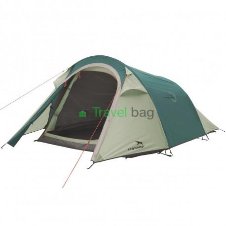 Палатка трехместная Easy Camp Energy 300 зеленая