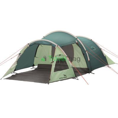 Палатка трехместная Easy Camp Spirit 300 зеленая