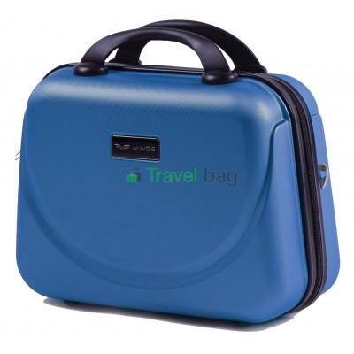 Кейс пластиковый WINGS 310 синий ручки в цвет