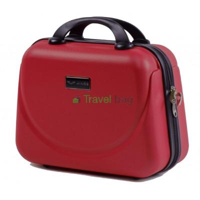 Кейс пластиковый WINGS 310 красный ручки в цвет