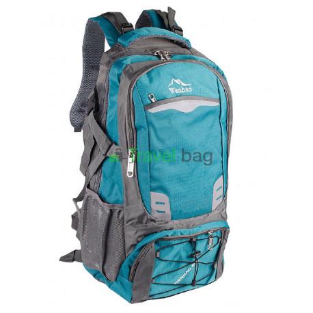 Рюкзак туристичний Wenhao 60 л бирюзовый