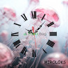 Настенные часы MIROLOKS Медуза на холсте 35х35 см M00005