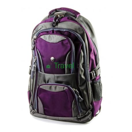 Рюкзак ST серо-фиолетовый R000249