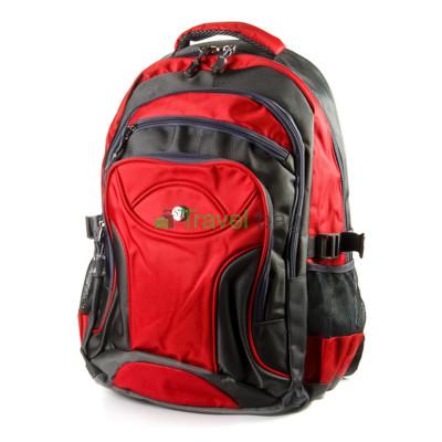 Рюкзак ST серо-красный R000250