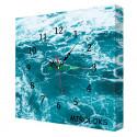 Настенные часы MIROLOKS Океан 35х35 см M00009