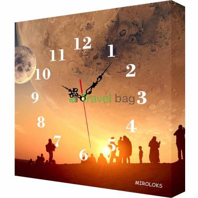 Настенные часы MIROLOKS fantasy-2 35х35 см M00008