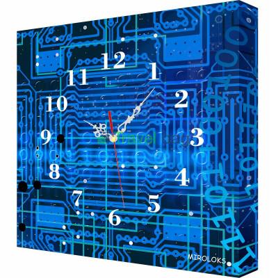 Настенные часы MIROLOKS Плата 35х35 см M00014