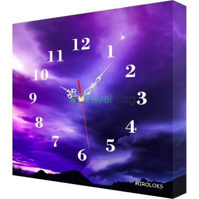 Настенные часы MIROLOKS Небо 35х35 см M00022