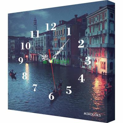 Настенные часы MIROLOKS Венеция 35х35 см M00024