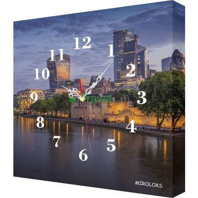 Настенные часы MIROLOKS Набережная-1 35х35 см M00025