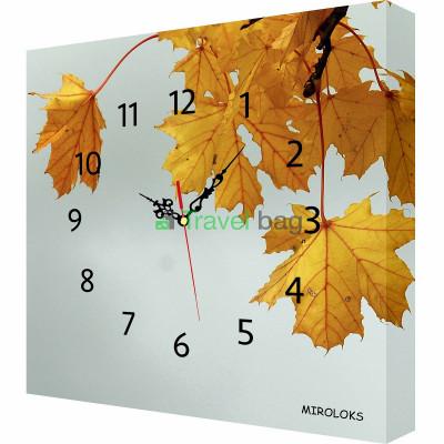 Настенные часы MIROLOKS Осень 35х35 см M00029