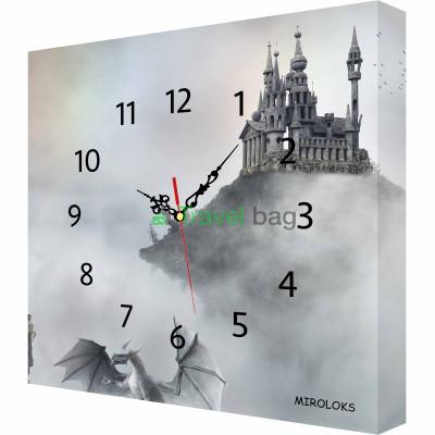 Настенные часы MIROLOKS fantasy-5 35х35 см M00027