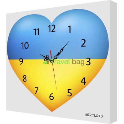 Настенные часы MIROLOKS Украина 35х35 см M00031