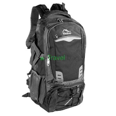 Рюкзак туристичний Wenhao 60 л черный
