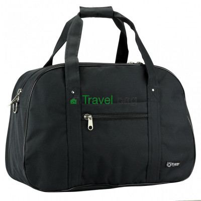 Сумка дорожная Tiger Euro Bag Print 33х50 черная S273721