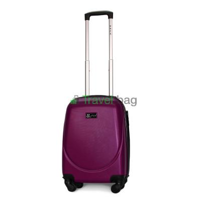 Чемодан пластиковый FLY 310 мини темно-фиолетовый 51 см
