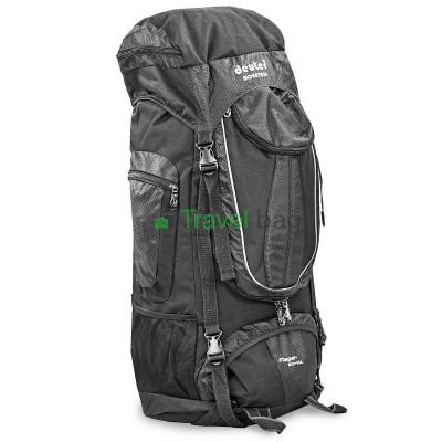Рюкзак туристический каркасный DEUTER 60+10 литров нижний вход черный