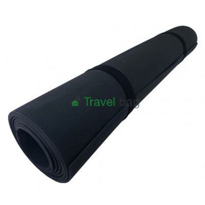 Коврик для йоги EVA (каремат) однослойный 1800х600х3мм черный