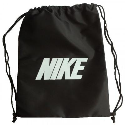 Рюкзак-мешок Nike на затяжках черный