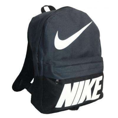 Рюкзак спортивный Nike (Найк) черно-серый 40х30 см.