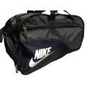 Сумка спортивная Nike средняя черно-серая 56 см
