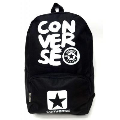Рюкзак спортивный Converse (Конверс) черный 40х30 см.
