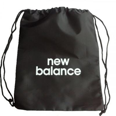 Рюкзак-мешок NB на затяжках черный