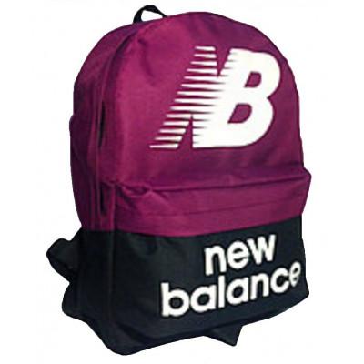 Рюкзак спортивный New balance черно-бордовый 40х30 см.