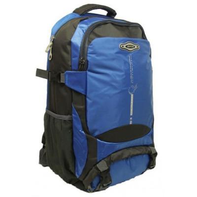 Рюкзак туристический 30 л JDXFENG 52х32х17 серо-синий