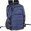 Рюкзак спортивный Wiste 45х30 черно-темно-синий
