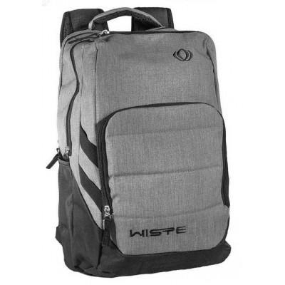 Рюкзак спортивный Wiste 45х30 черно-серый