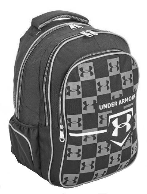 81764052 Рюкзак спортивный UNDER ARMOUR 43x28x23 черно-серый - Travel Bag
