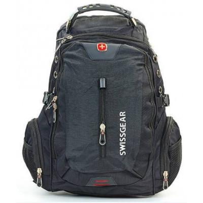Рюкзак спортивный SWISSGEAR 1521 30л 44x33x23 черно-серый