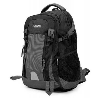 Рюкзак туристический ZELART 30л жесткая спина, поясной ремень 50х33х16 серо-черный
