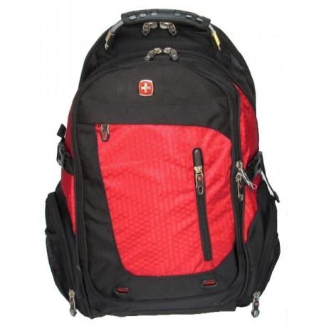 Рюкзак спортивный SWISSGEAR 55301 30л 44x32x17 черно-красный